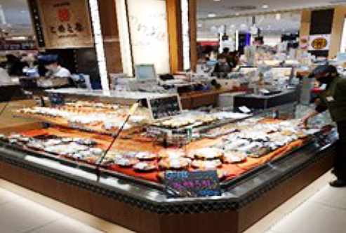 魚総菜【うお活鮮】 大丸心斎橋店 本館B1